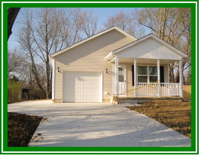 Habitat House complete