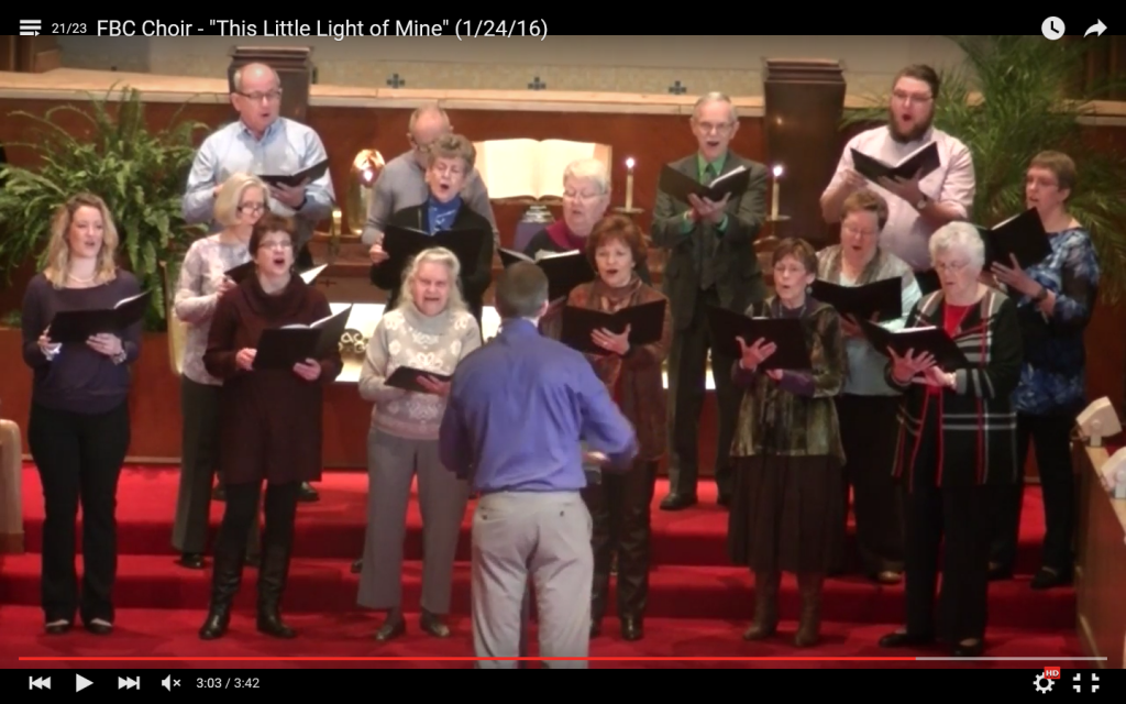 First Baptist Church Chancel Choir