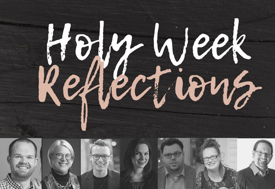 Holy Week Reflections Speakers