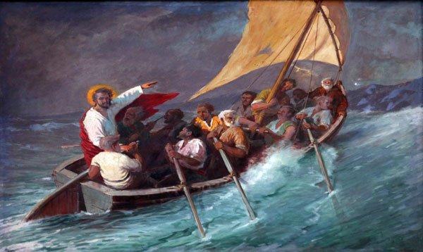 Jesus Calms The Waters