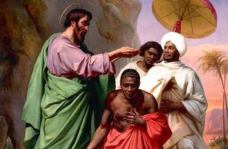 Eithiopian Eunuch Baptism